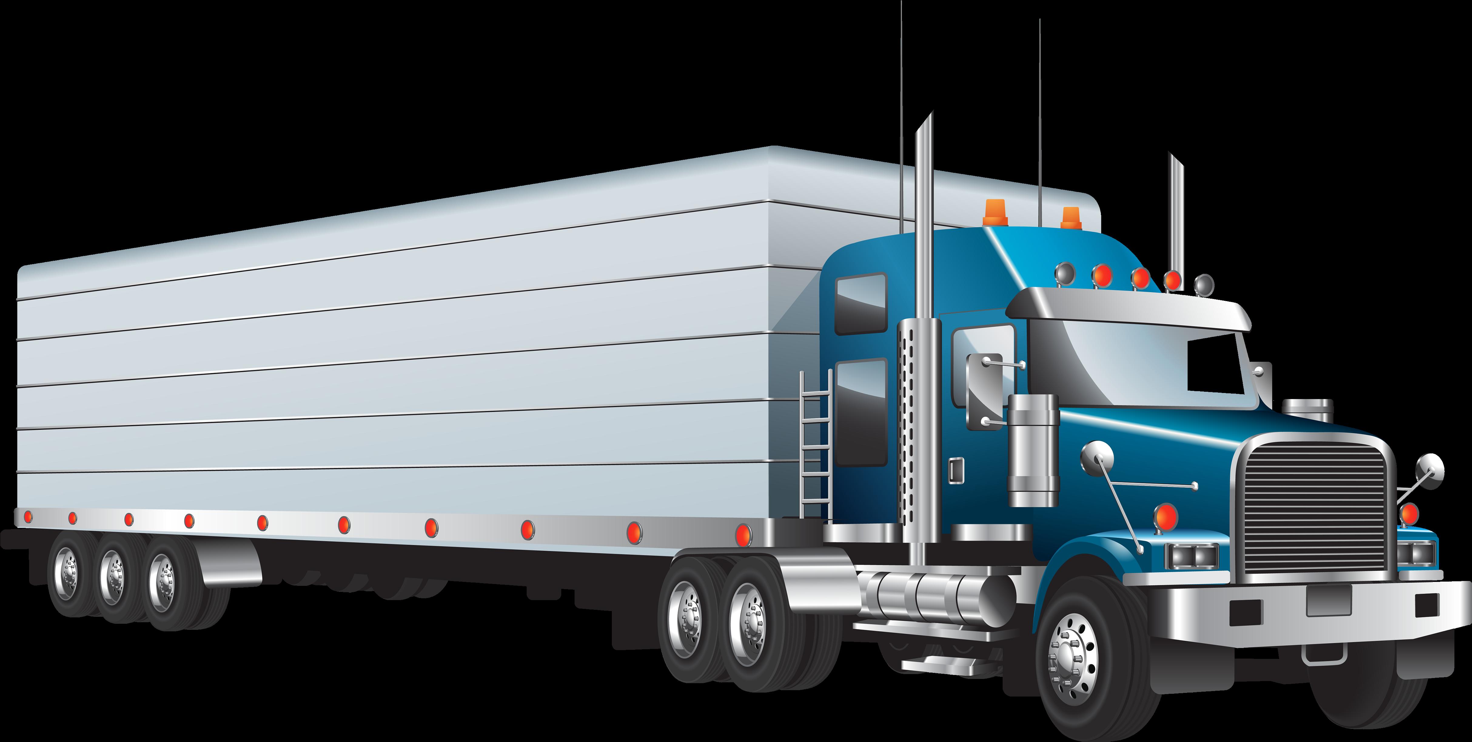 Transparent dump truck clip art - Semi Truck Clipart Web Cartoons Trucks Clipartandscrap