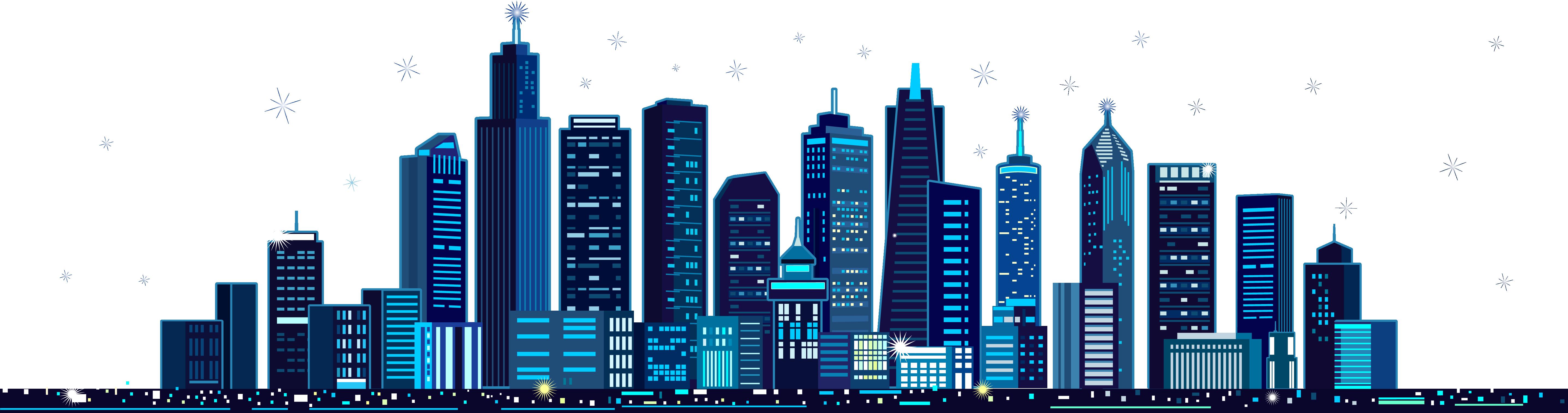 Blue Building City Festival M - City Building Vector Png , Transparent Cartoon - Jing.fm