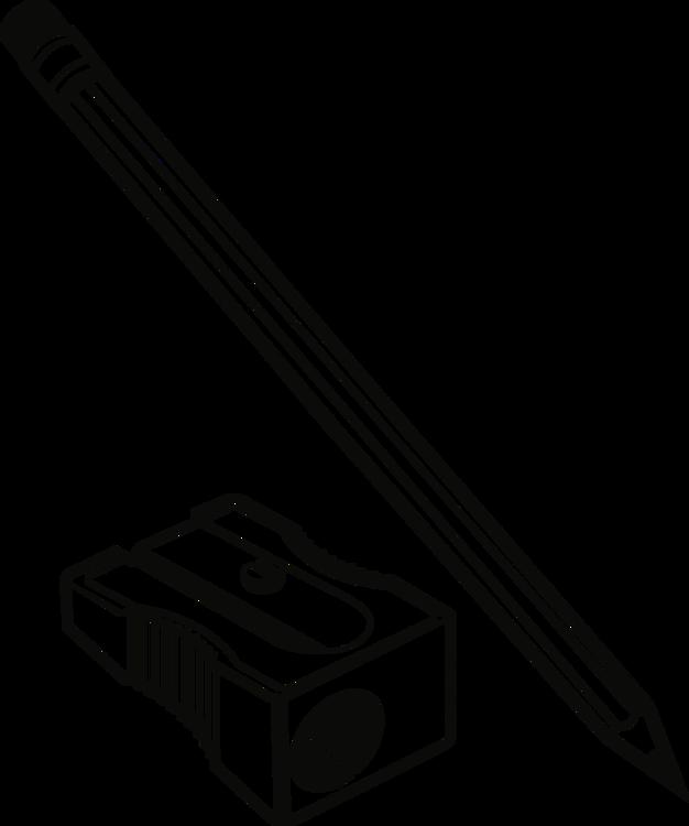 Transparent pencil clip art - Pencil Sharpener Png - Pencil Sharpener Clipart Black And White