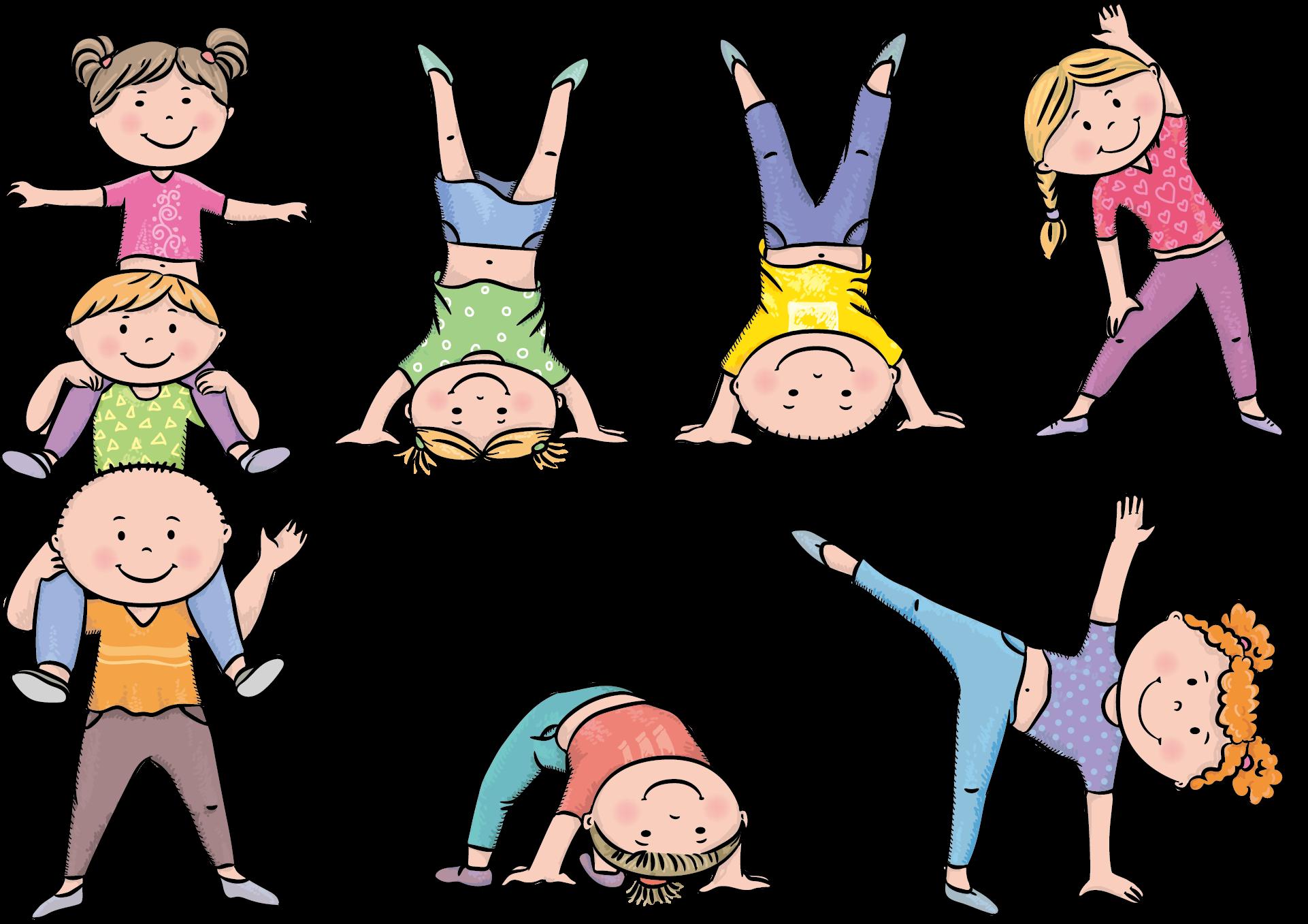Physical Exercise Stock Illustration Kids Exercise Cartoons Transparent Cartoon Jing Fm