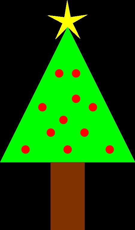 Transparent simple christmas tree clipart - Christmas Tree Clipart Christmastree - Christmas Clipart Png Transparent Background