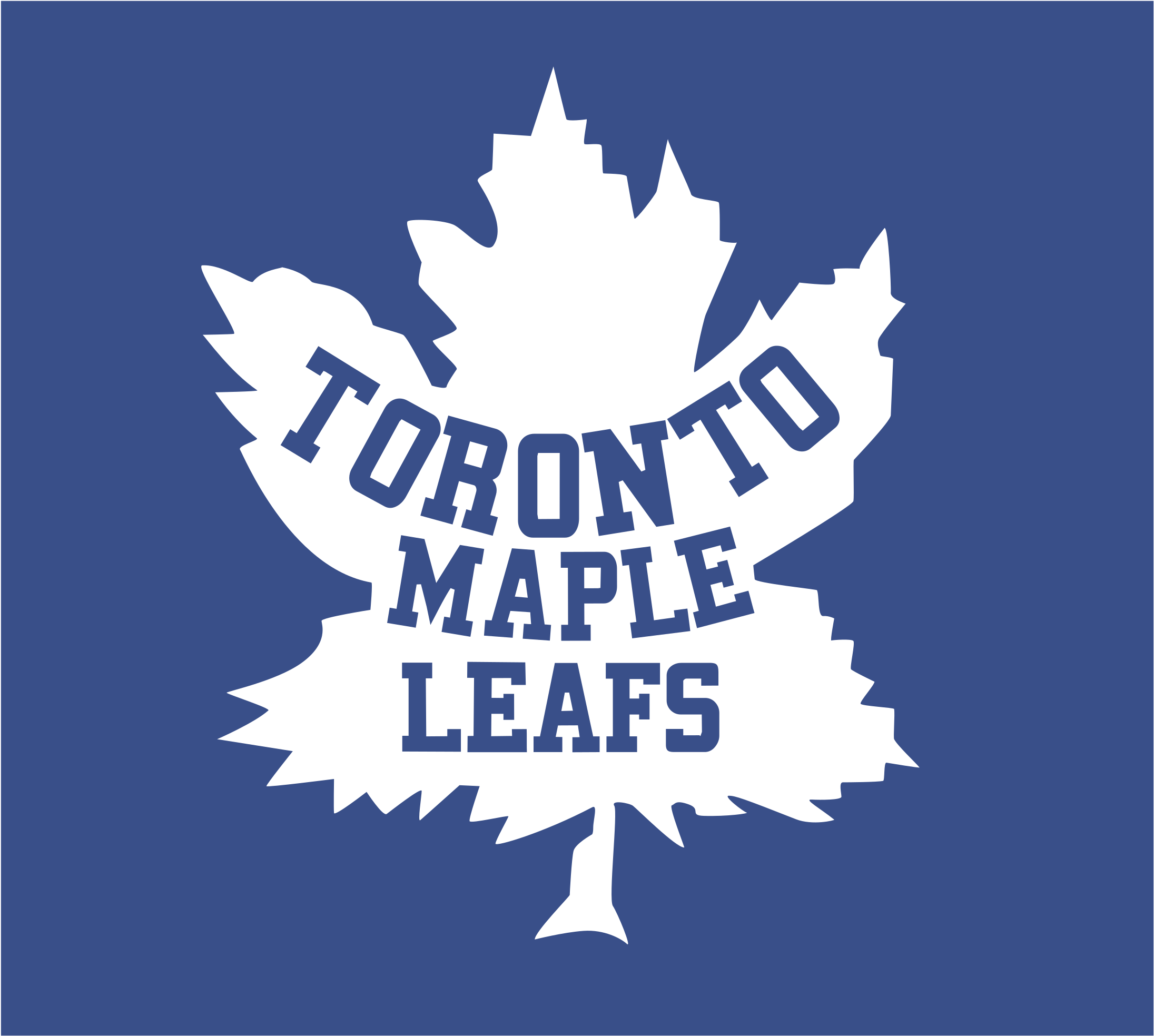 Toronto Maple Leafs Logo Png Transparent Toronto Maple Leafs Transparent Cartoon Jing Fm