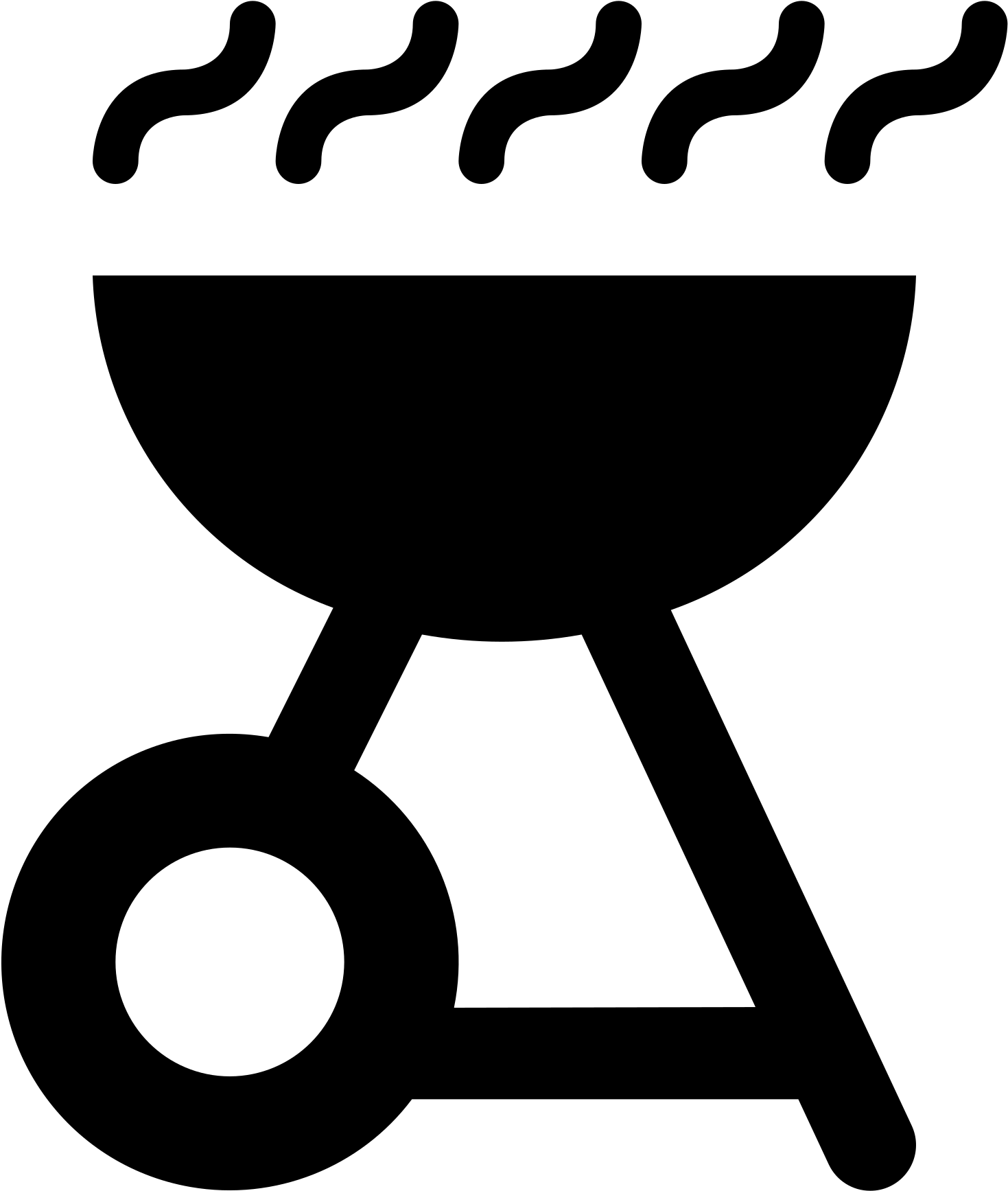 Transparent bbq clipart black and white - File Maki Bbq Wikimedia Commons Open Ⓒ - Barbecue