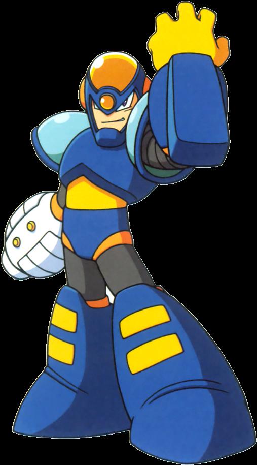 Transparent garbage man clipart - Garbage - Mega Man Flash Man