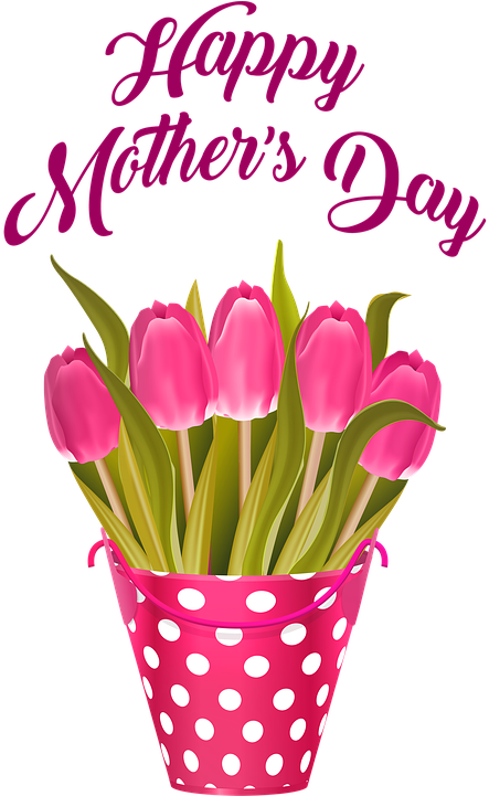 Transparent happy mother's day clipart - Mother's Day Images - Flower Happy Mothers Day 2019