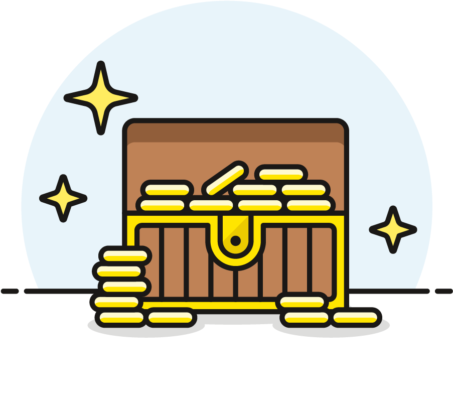 Transparent open treasure chest clipart - A Queen's Ransom