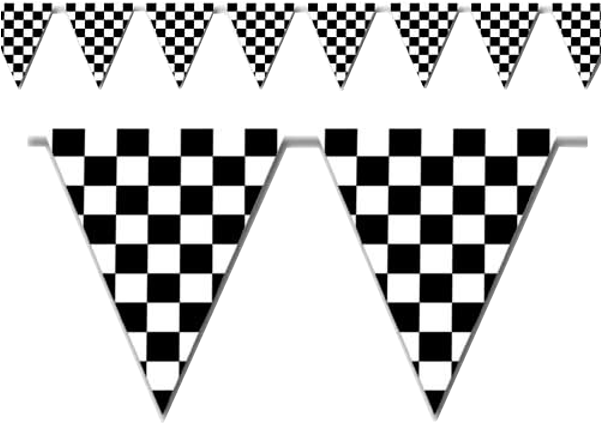 image relating to Checkered Flag Printable identify Black And White Banner Towards Printabletreats Racing