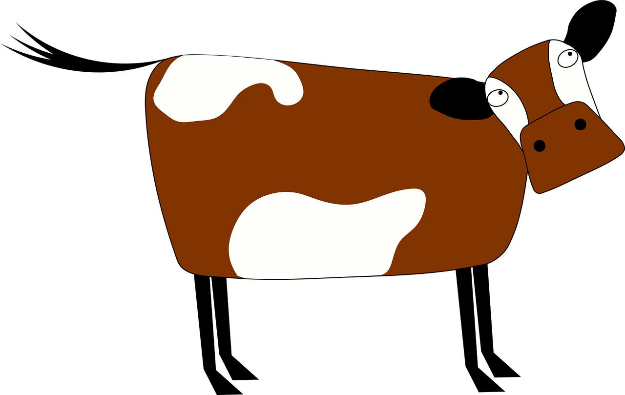 Transparent dairy cow clipart - Taurine Cattle Cartoon Dairy Cattle Animal Drawing - Cartoon Brown Cow Transparent Background