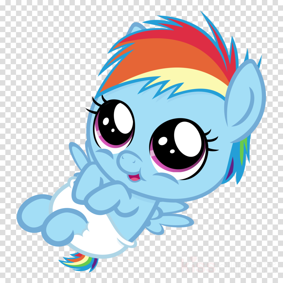 - Download My Little Pony As Babies Clipart Pony Rainbow - My Little