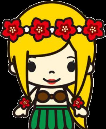 Free Hula Girl Clipart Clip Art Transparent Cartoon Jing Fm