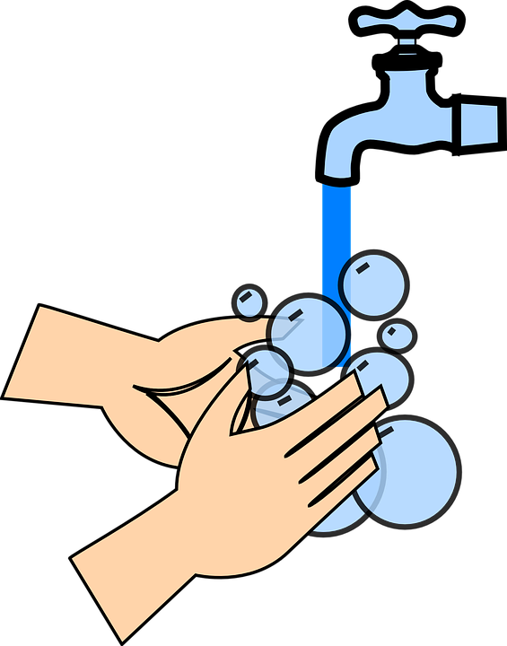 Clipart Of Wash Ignore And Hand At Hand Wash Vector Png